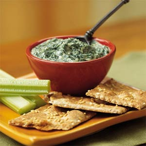 Creamy Fresh Spinach Dip « My Mobile Personal Trainer
